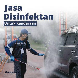 jasa disinfektan untuk mobil